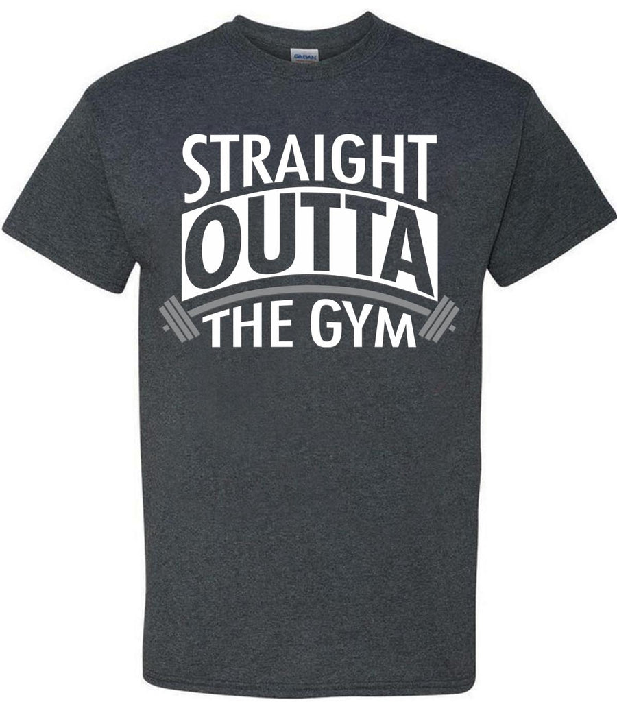 Straight Outta The Gym Fitness Workout T Shirt