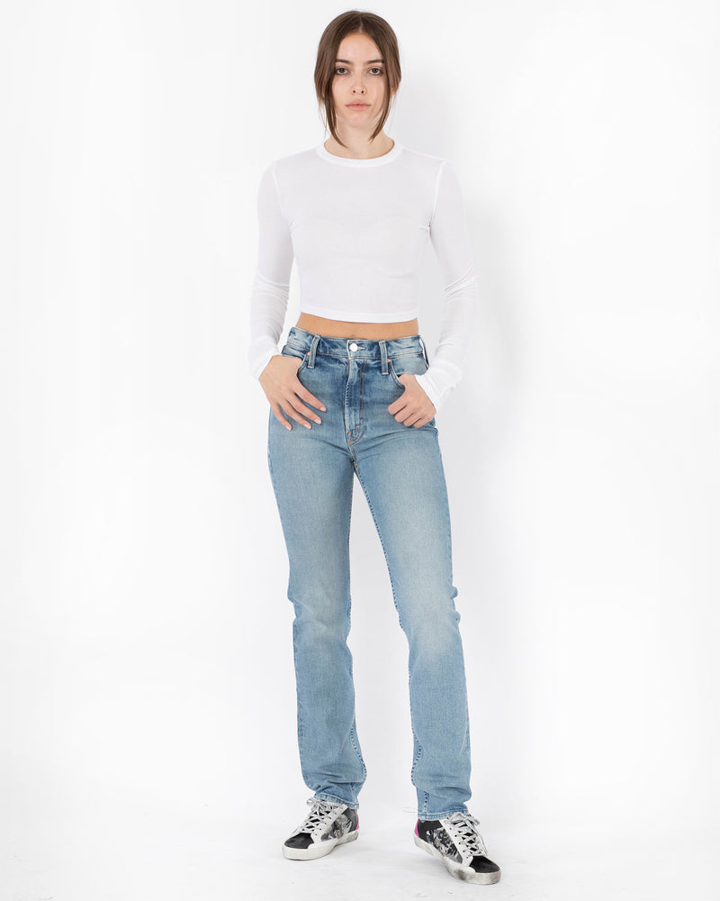 MOTHER - High Waisted Ride Skimp Jeans | Luxury Designer Fashion | tntfashion.ca