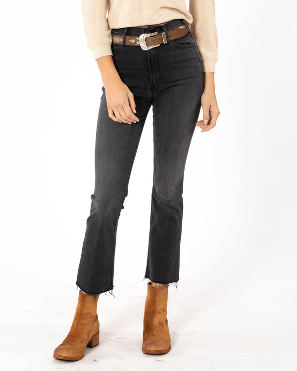 MOTHER - Hustler Ankle Fray Jeans | Luxury Designer Fashion | tntfashion.ca