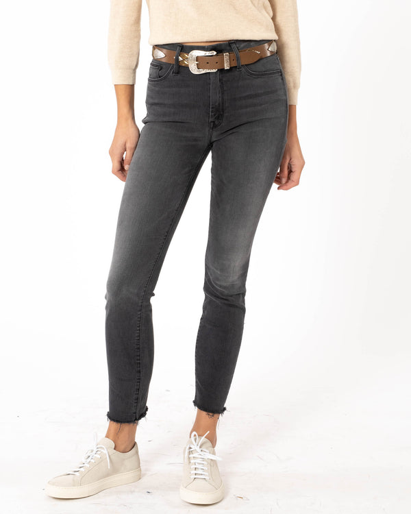 MOTHER - Looker Ankle Fray Jeans | Luxury Designer Fashion | tntfashion.ca