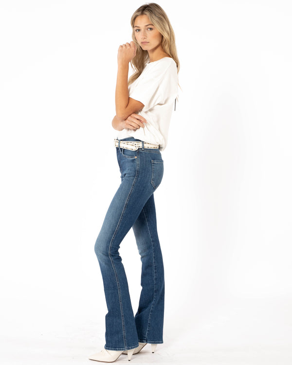 MOTHER - Double Insider Jeans | Luxury Designer Fashion | tntfashion.ca