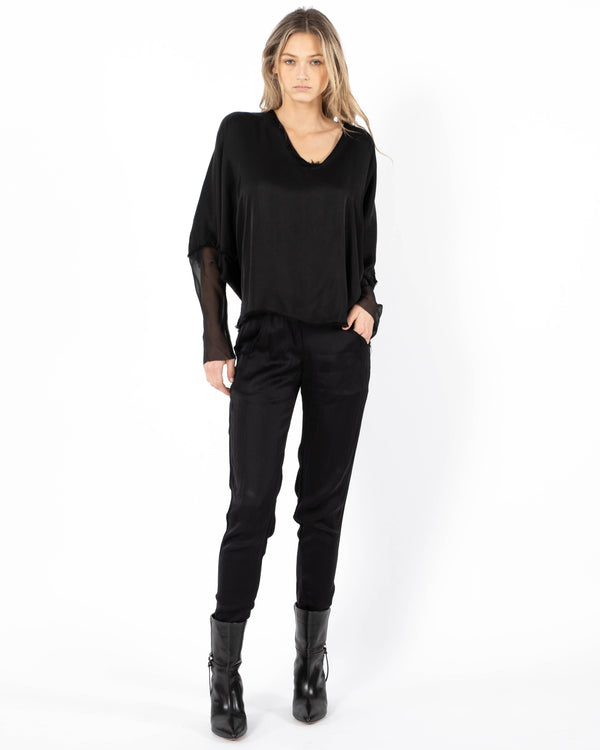 JAGA - Blouse | Luxury Designer Fashion | tntfashion.ca