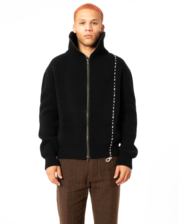 ANN DEMEULEMEESTER Knitted Cardigan | newtntfashion.