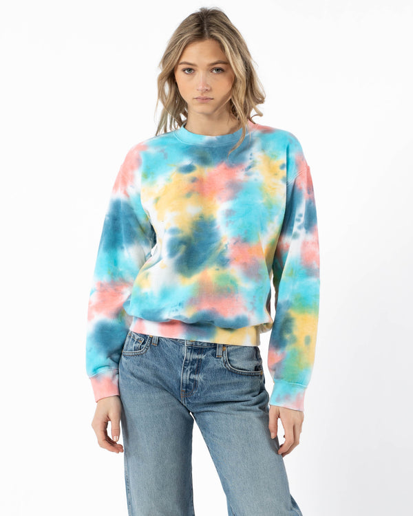 JET - Tie-Dye Crewneck Pullover | Luxury Designer Fashion | tntfashion.ca