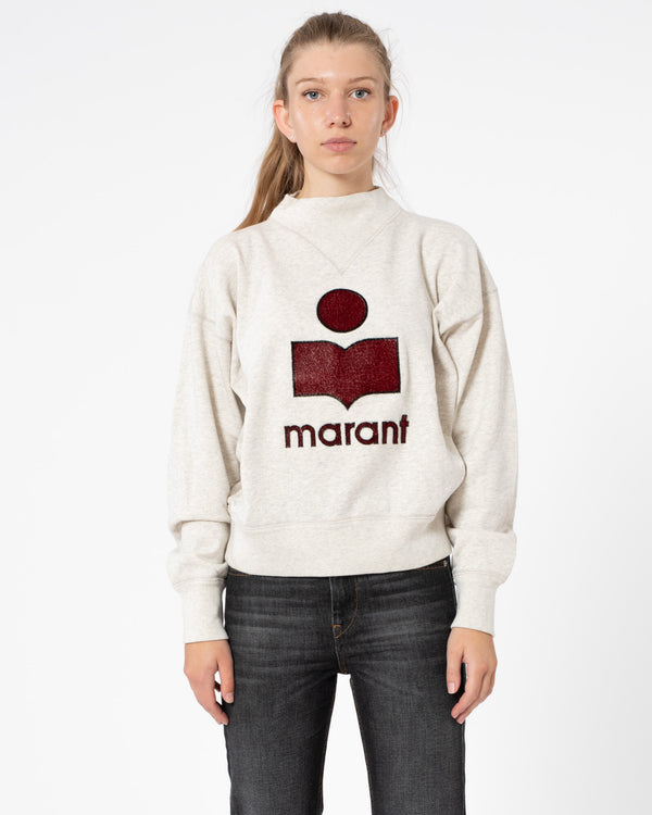 ISABEL MARANT ETOILE - Moby Sweatshirt | Luxury Designer Fashion | tntfashion.ca