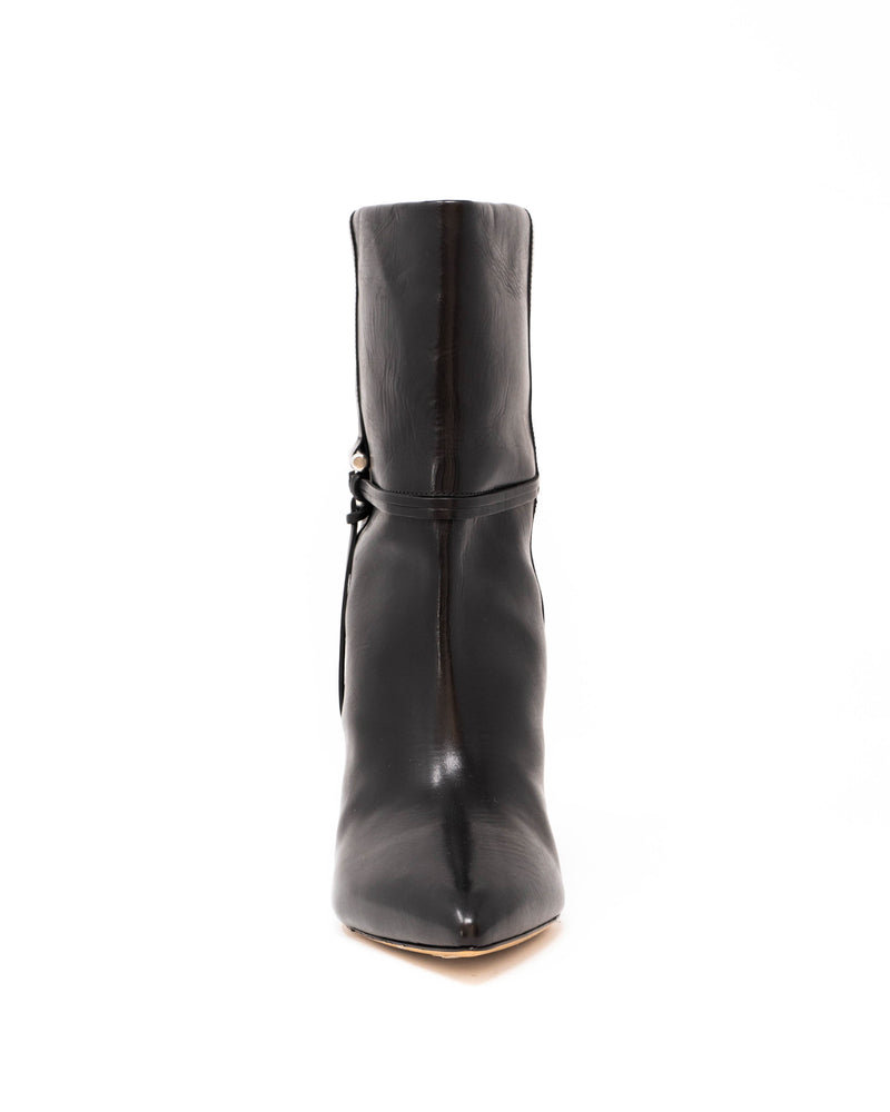 ISABEL MARANT - Lilet Low Boots | Luxury Designer Fashion | tntfashion.ca