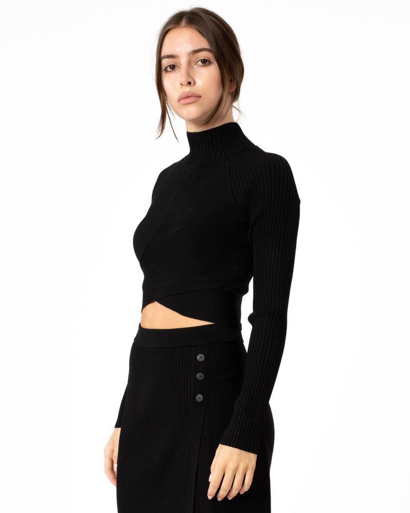 JONATHAN SIMKHAI - Camila Cutout Top | Luxury Designer Fashion | tntfashion.ca