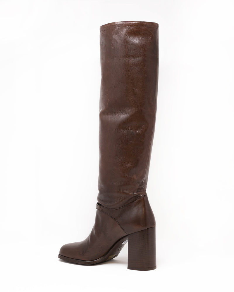 MIU MIU - Vit Panosh Boots | Luxury Designer Fashion | tntfashion.ca