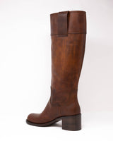 MIU MIU - Vit Pull Up Boots | Luxury Designer Fashion | tntfashion.ca