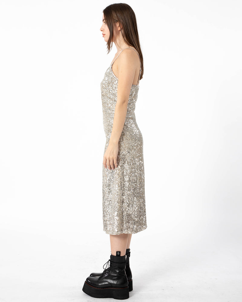 LOYD/FORD - Long Sequin Slip Dress | Luxury Designer Fashion | tntfashion.ca