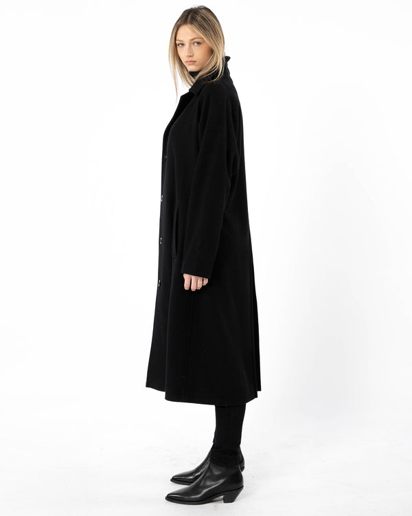 Y'S - O-Designed Sleeve Coat | Luxury Designer Fashion | tntfashion.ca