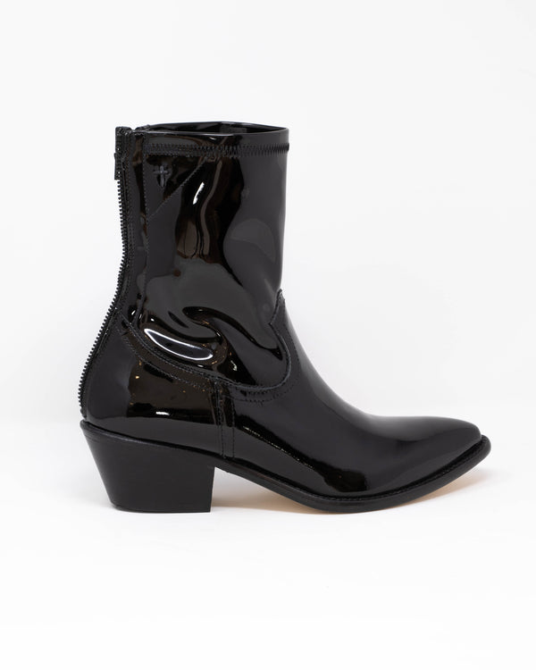 RTA - Patent Western Boots | Luxury Designer Fashion | tntfashion.ca