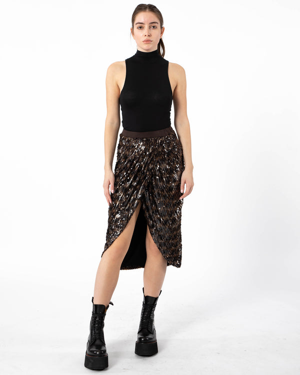 LE SUPERBE - Take It Easy Skirt | Luxury Designer Fashion | tntfashion.ca