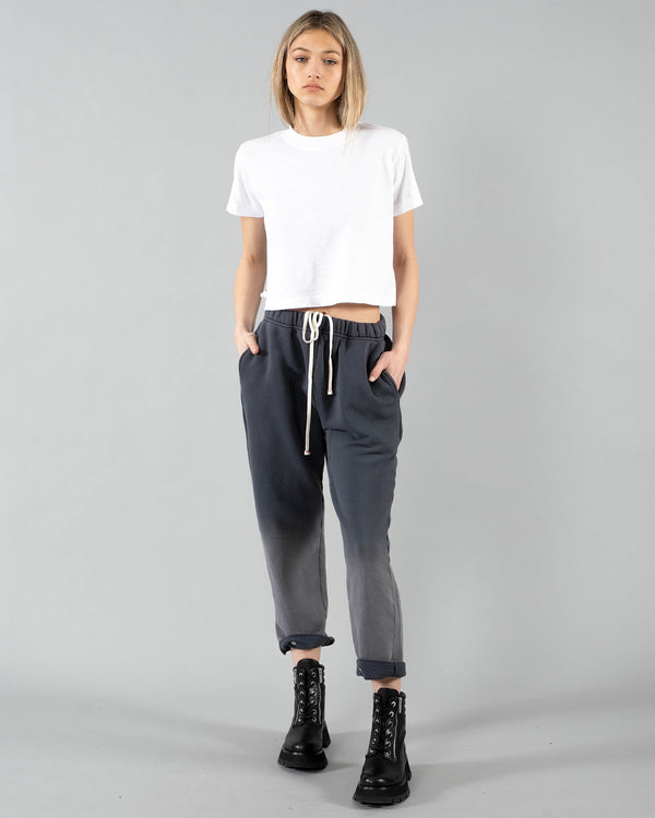 LES TIEN - Snap Front Ombre Pants | Luxury Designer Fashion | tntfashion.ca