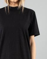 LES TIEN - Unisex Mock Neck T-Shirt | Luxury Designer Fashion | tntfashion.ca