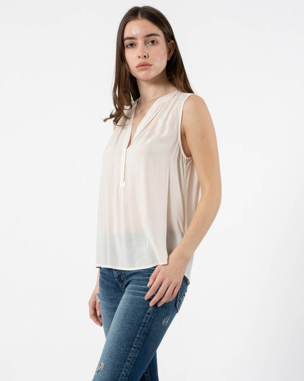 VELVET - Rayon Sleeveless Top | Luxury Designer Fashion | tntfashion.ca