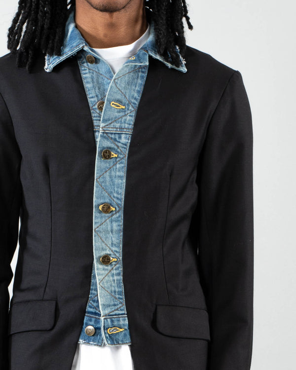 GREG LAUREN - Tux Trucker Front | Luxury Designer Fashion | tntfashion.ca