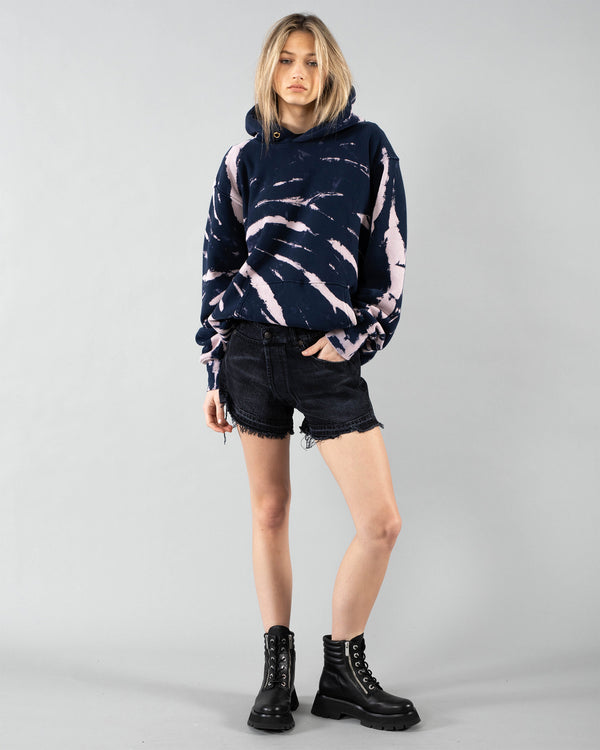 LES TIEN - Crop Tie-Dye Hoodie | Luxury Designer Fashion | tntfashion.ca