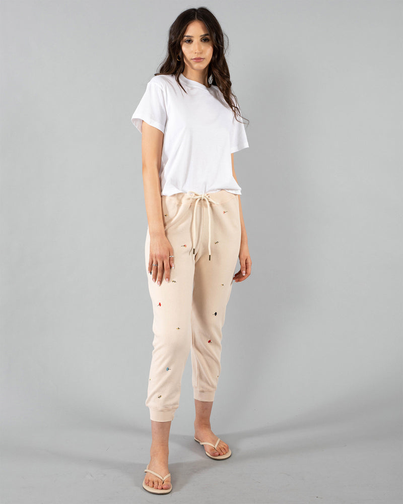 THE GREAT - Cropped Sweatpants | Luxury Designer Fashion | tntfashion.ca