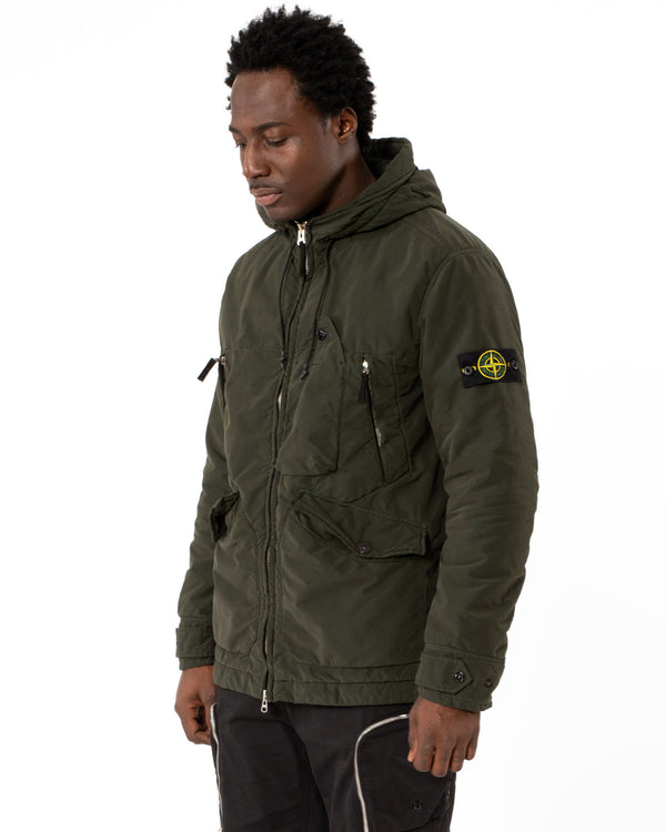 STONE ISLAND - Hooded Lightweight Jacket | Luxury Designer Fashion | tntfashion.ca