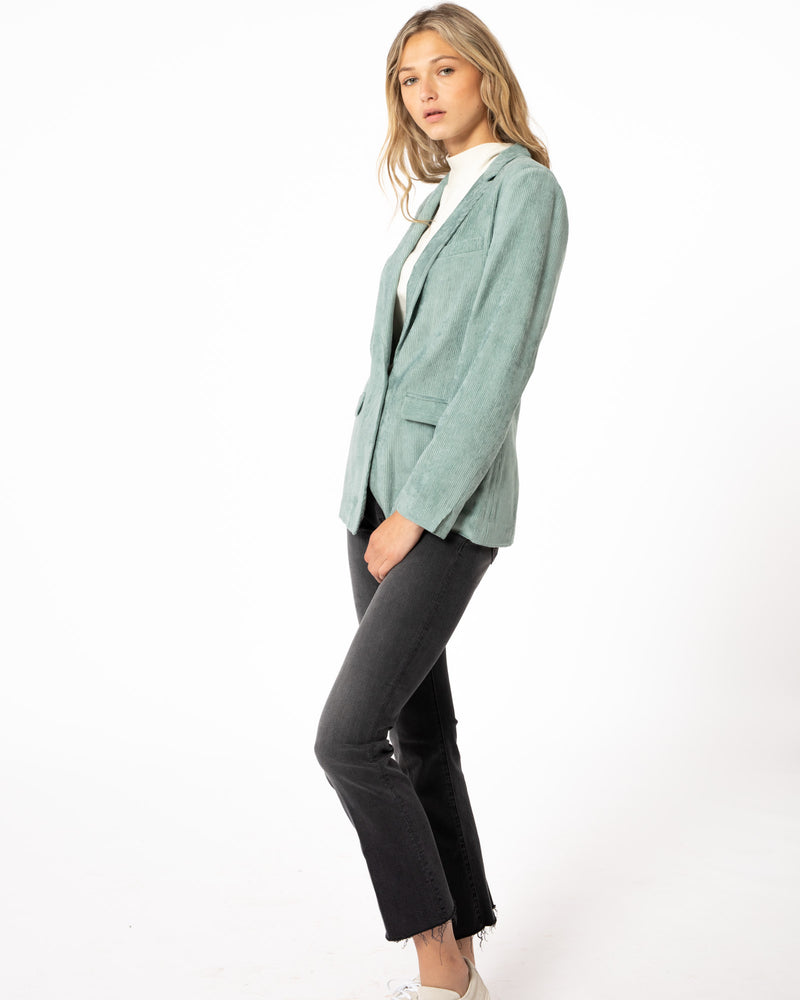 FORTE FORTE Ribbed Vevet Jacket | newtntfashion.