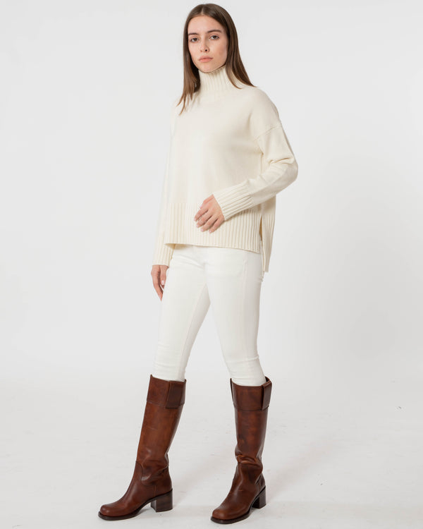 CO Slim Sleeve Boxy Sweater | newtntfashion.