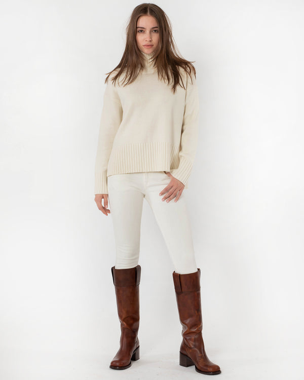 CO - Slim Sleeve Boxy Sweater | Luxury Designer Fashion | tntfashion.ca