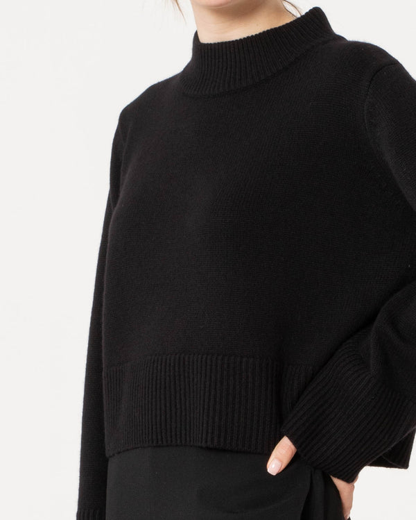 CO - Boxy Crewneck Sweater | Luxury Designer Fashion | tntfashion.ca