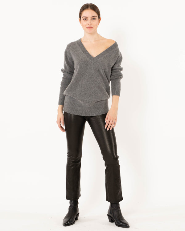 CO V-Neck Boyfriend Sweater | newtntfashion.