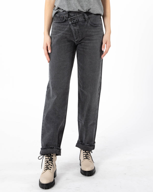 AGOLDE Criss Cross Jean | newtntfashion.