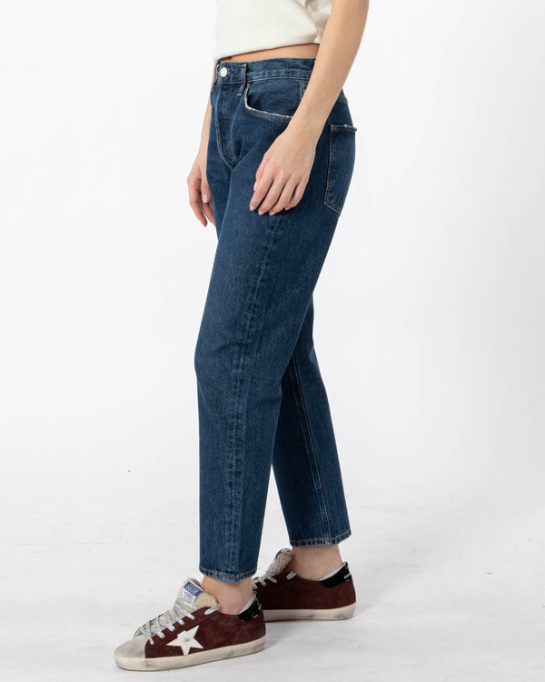 AGOLDE Riley High Rise Crop Jeans | newtntfashion.