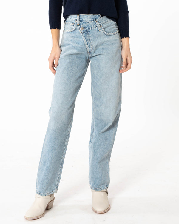 AGOLDE Criss Cross Jeans | newtntfashion.