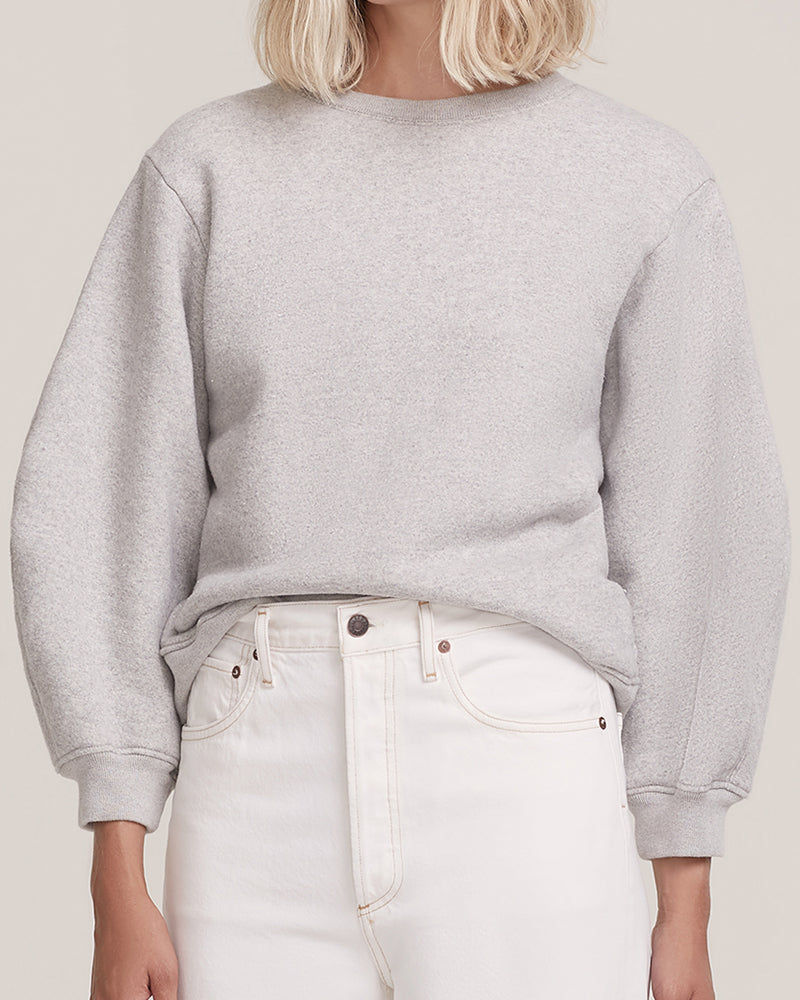 AGOLDE - Thora Sweatshirt | Luxury Designer Fashion | tntfashion.ca