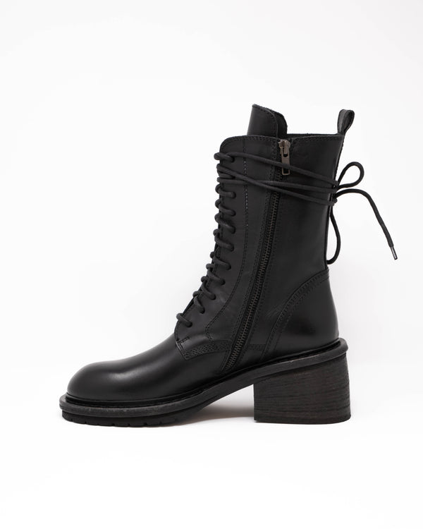 ANN DEMEULEMEESTER - Lace-Up Boots | Luxury Designer Fashion | tntfashion.ca