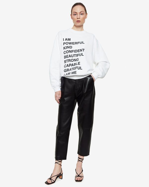 ANINE BING Ramona Sweatshirt | newtntfashion.
