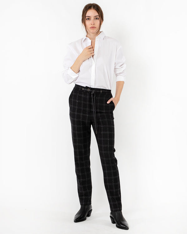 ELEVENTY Windowpane Pants | newtntfashion.