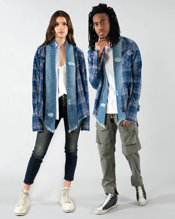 GREG LAUREN - West Kimono | Luxury Designer Fashion | tntfashion.ca
