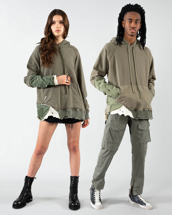 GREG LAUREN - Fragment Hoodie | Luxury Designer Fashion | tntfashion.ca