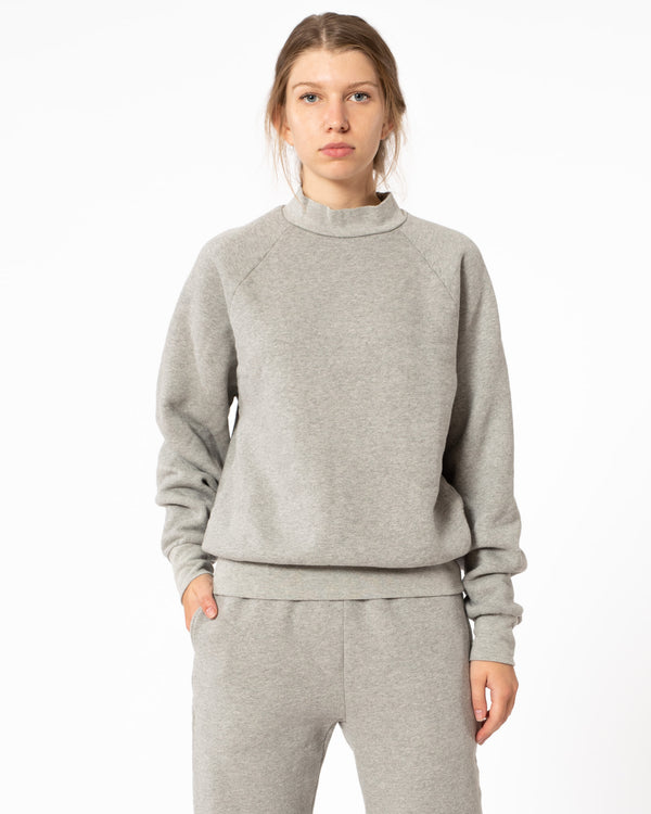 LES TIEN - Mock Sweatshirt | Luxury Designer Fashion | tntfashion.ca