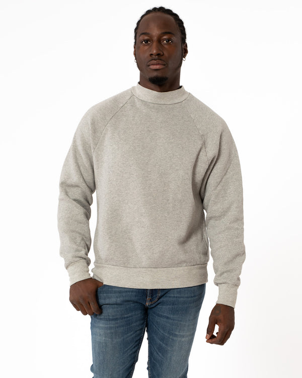 LES TIEN Mock Sweatshirt | newtntfashion.