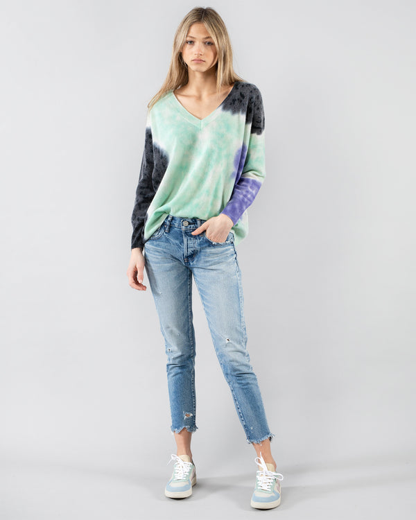 CRUSH - Oversized V-Neck Pullover | Luxury Designer Fashion | tntfashion.ca
