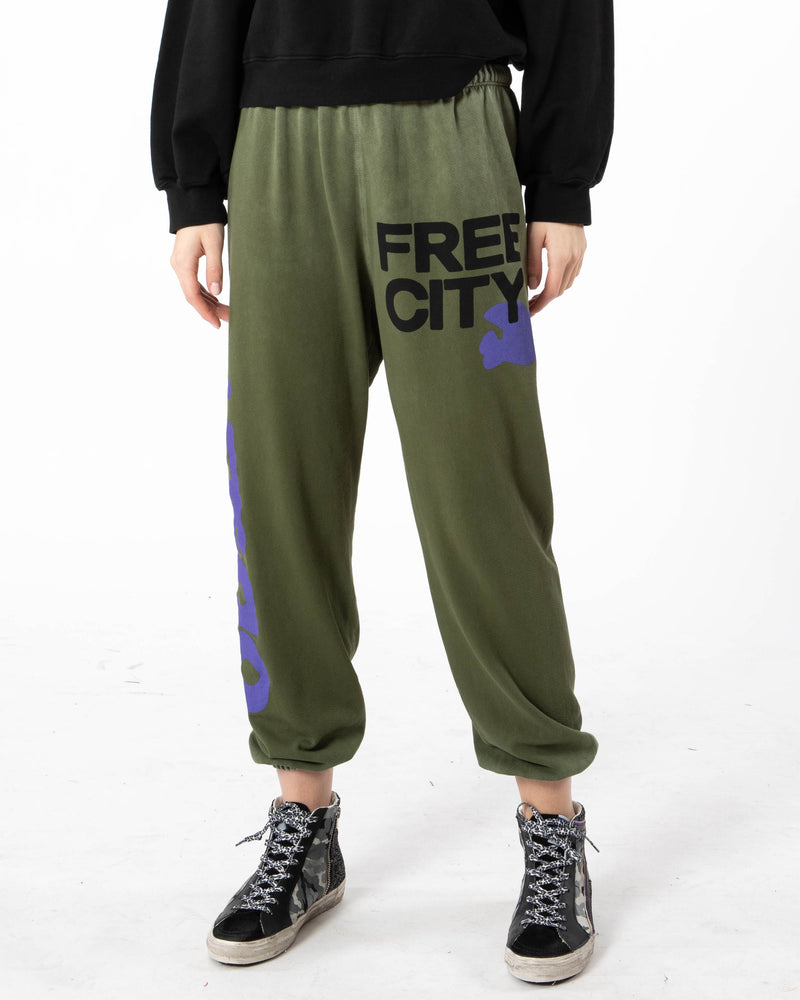 FREE CITY - Letsgo Sweatpants | Luxury Designer Fashion | tntfashion.ca