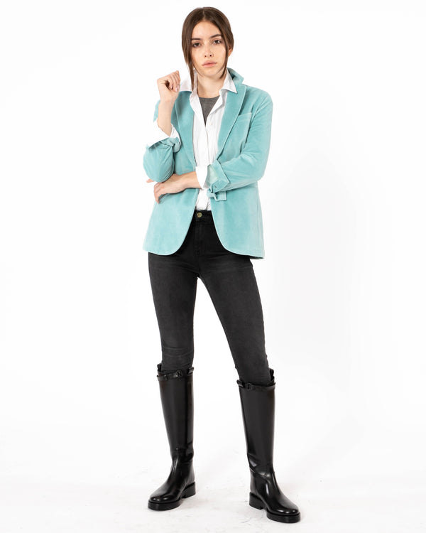 CIRCOLO 1901 Long One Button Slim Jacket | newtntfashion.