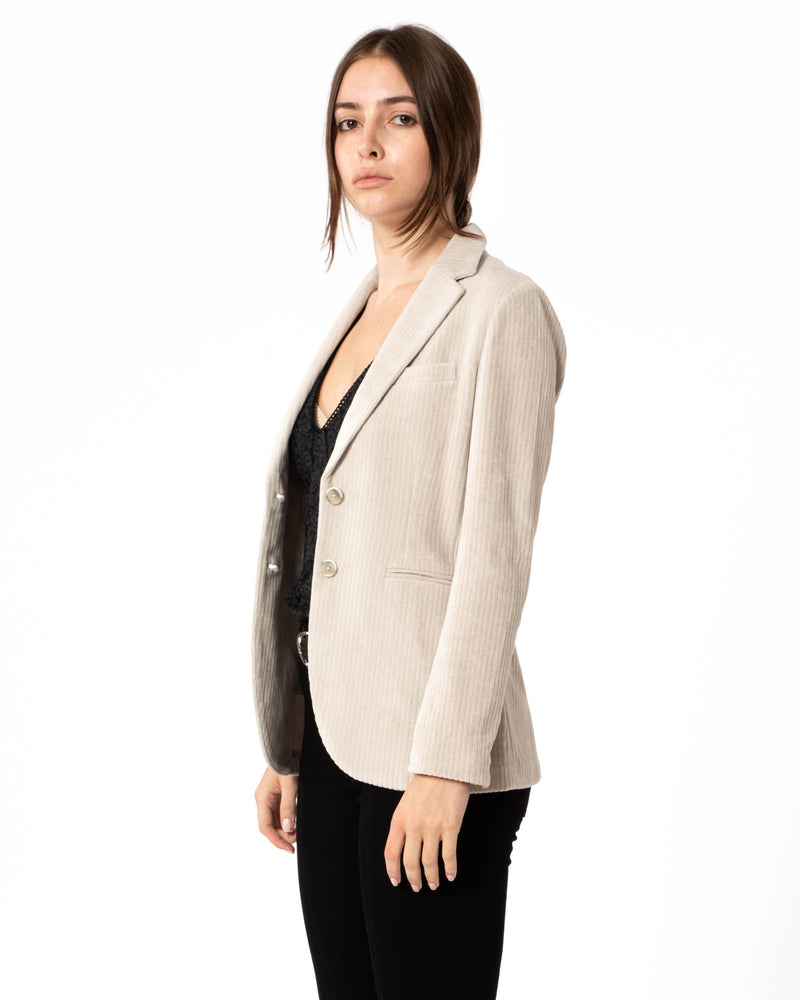 CIRCOLO 1901 - Short Two Button Slim Jacket | Luxury Designer Fashion | tntfashion.ca