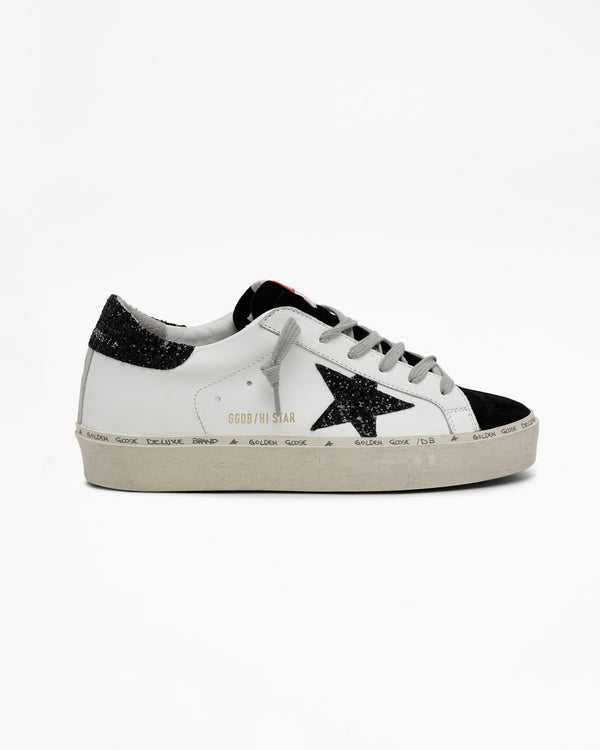GOLDEN GOOSE - Hi Star Upper Glitter Sneakers | Luxury Designer Fashion | tntfashion.ca