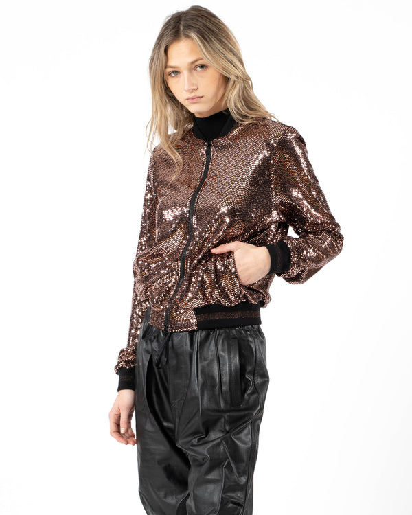 PAM & GELA Mirror Ball Jacket | newtntfashion.