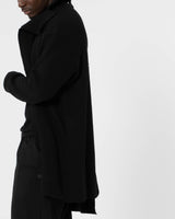 YOHJI YAMAMOTO - Unbalanced  Cardigan | Luxury Designer Fashion | tntfashion.ca