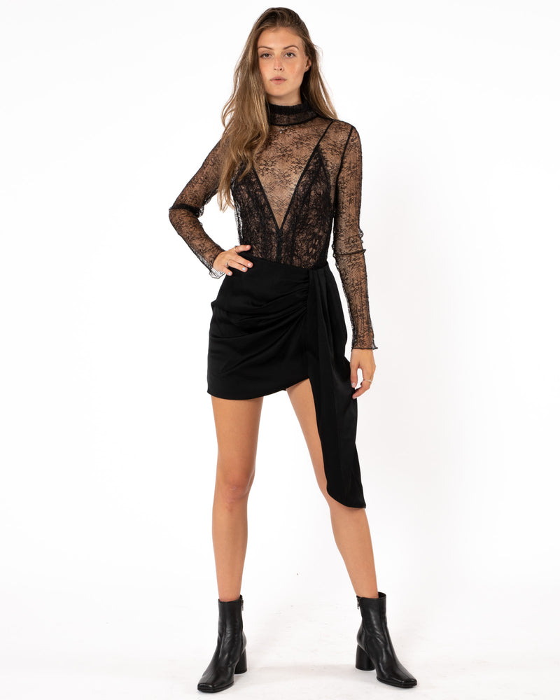 JONATHAN SIMKHAI - Mae Mini Skirt | Luxury Designer Fashion | tntfashion.ca