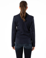 MAJESTIC FILATURES - One Button Blazer | Luxury Designer Fashion | tntfashion.ca