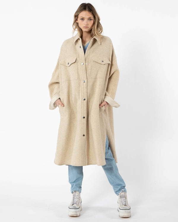 ISABEL MARANT ETOILE - Fontia Coat | Luxury Designer Fashion | tntfashion.ca